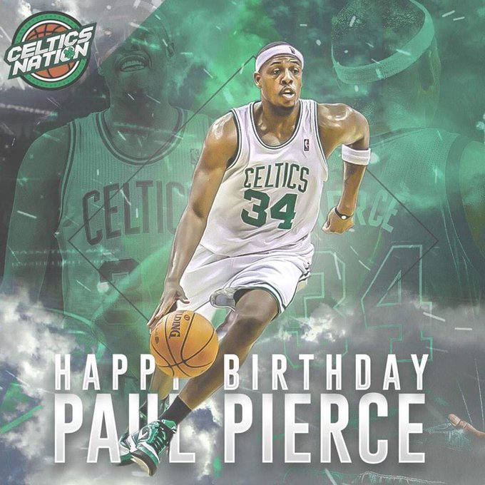 Happy 41st birthday to Paul Pierce ( )!