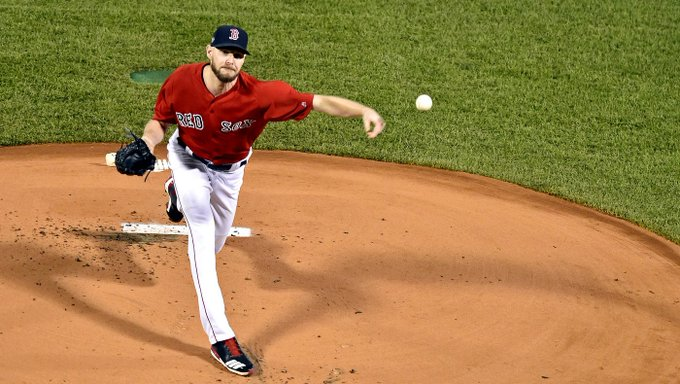Red Sox vs. Astros ALCS: Shaky Chris Sale bends but never really breaks in Game 1 Foto