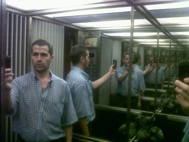 #SabadoDeFotoRetro yo y mis otros yo en una multi-selfie del @LaDoorsiana Foto