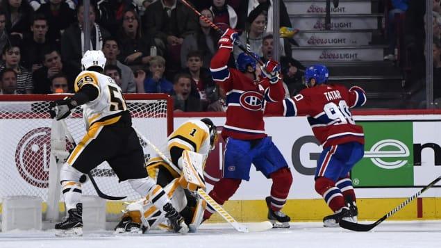 Le Canadien triomphe en tirs de barrage face aux Penguins Photo