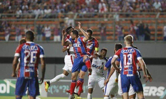 Assista aos melhores momentos do jogo Bahia 2 x 0 Paraná em Pituaçu - Foto
