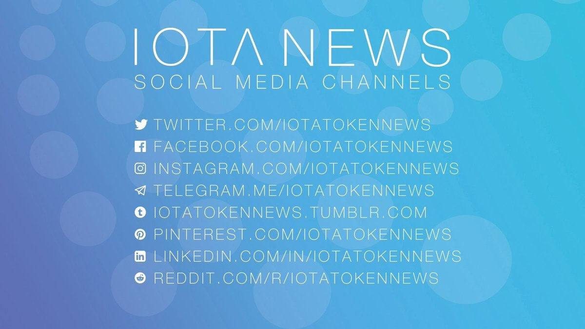 IOTA News on Twitter: