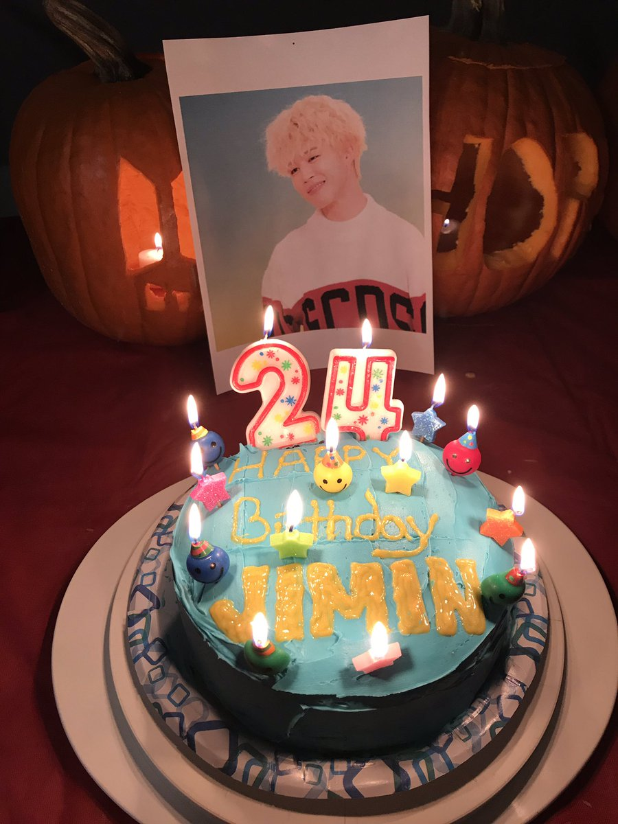 Jimin Birthday Cakes