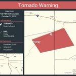 Image for the Tweet beginning: Tornado Warning including De Berry