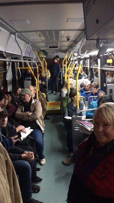 Hop aboard the FREE #NOCHFX18 shuttle bus. The bus is wheelchair accessible and you can find the route map in our program guide. @hfxtransit Photo