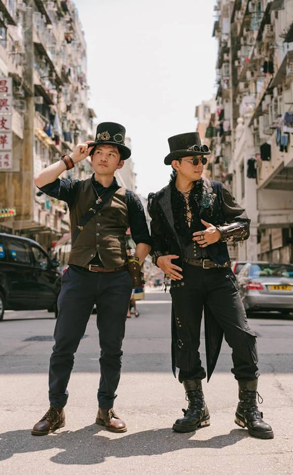 香港でカッコ良く撮影してもらいました♪ 現地通訳・カメラマン・香港観光・クラフトビールプラン付き!  ※旅行会社のツアーよりも最高でした👍  Alanさん@silveralan1982 に大感謝です😄  Photo and Assistant: 丘碩勤、karl yuen  #steampunk #香港蒸気交流会 #香港蒸気撮影会 #大阪蒸気会