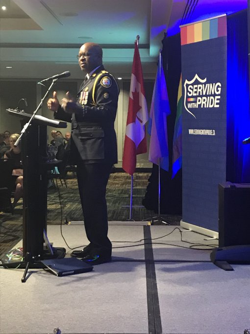 #ServingWithPride is a clear testament we're moving in the right direction - @marksaunderstps #OutoftheBlue Photo