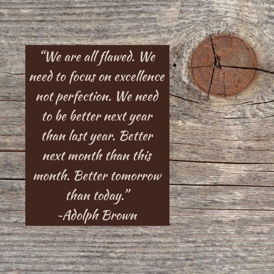 Perfection is a disease. @docspeaks #joyfulleaders