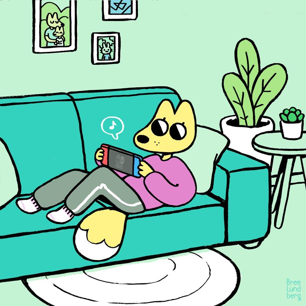 Sweatpants and video games kind of Saturday. Day 13 #inktober #inktober2018