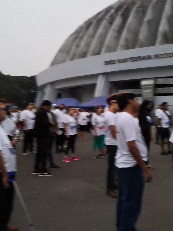 Participants at Inclusion Walk-a-than 2018