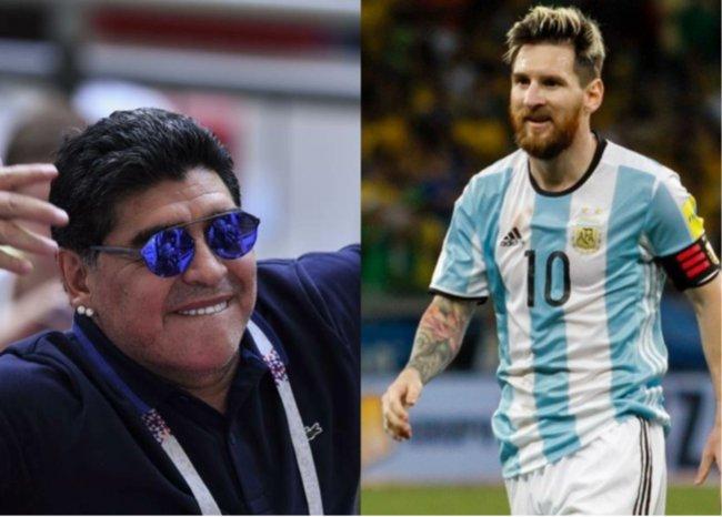 #TopBLU No lo endiosemos más: Maradona se vuelve a 'despachar' contra Messi → #VocesySonidos Foto