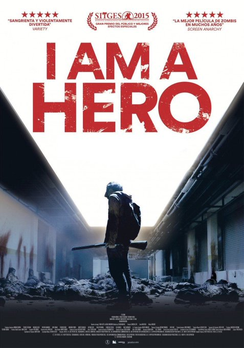Next up: more #zombie madness with a big screen showing of Shinsuke Sato's 2015 'I AM A HERO'! @TADFilmFest #TADFF @Shin_Angle Photo