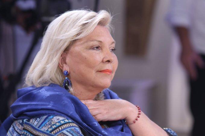 El lunes presentaré el juicio político a Garavano, dijo Elisa Lilita Carrió @elisacarrio en la #Mesaza de @mirthalegrand en #LaNocheDeML Foto