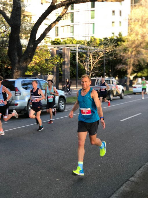 Thanks again to @melbmara for putting on such a great event. Massive congratulations to @diversinead for smashing the course record. See you next year ⭐️ Photo