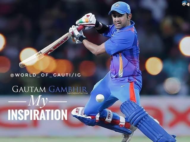 Happy birthday GAMBHIR# in sung hero of 2 world cups