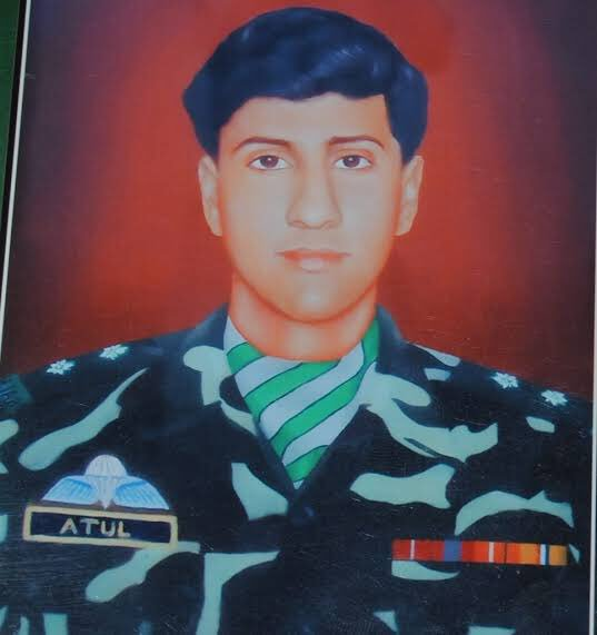 Join me in paying homage to LIEUTENANT ATUL KATARIA || 13 PUNJAB || SENA MEDAL || on his martyrdom day today. Lieutenant Atul attained martyrdom fighting terrorists at Pulwama in Kashmir in 1998. Photo