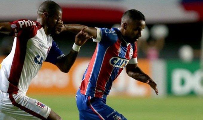 Bahia 2 x 0 Paraná: Veja os dois gols do meia Vinícius em Pituaçu - Foto