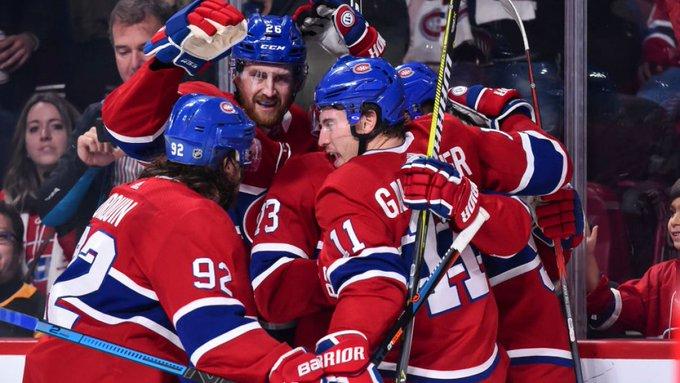 Le Canadien signe une première victoire devant ses partisans cette saison. Photo