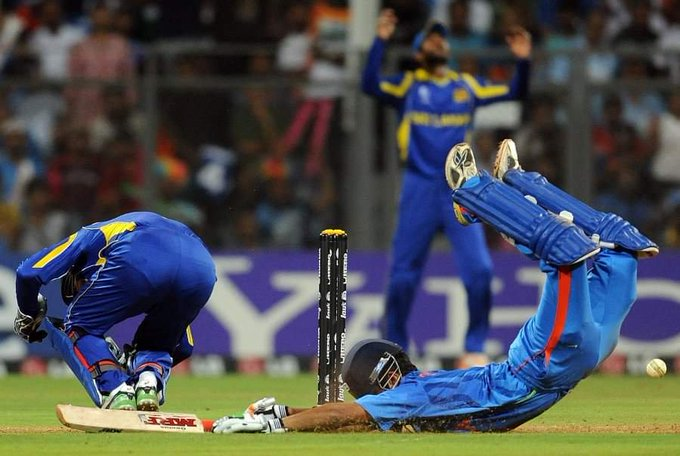75 vs 🇵🇰 in 2007 T20 WC final. 91 vs 🇱🇰 in 2011 ODI WC final. One of the two finest knocks ever for Indian cricket history. GG-Viru combo made my childhood awesome especially in tests which happened in India. The GOLDEN period of Indian cricket. #HappyBirthdayGautamGambhir Photo
