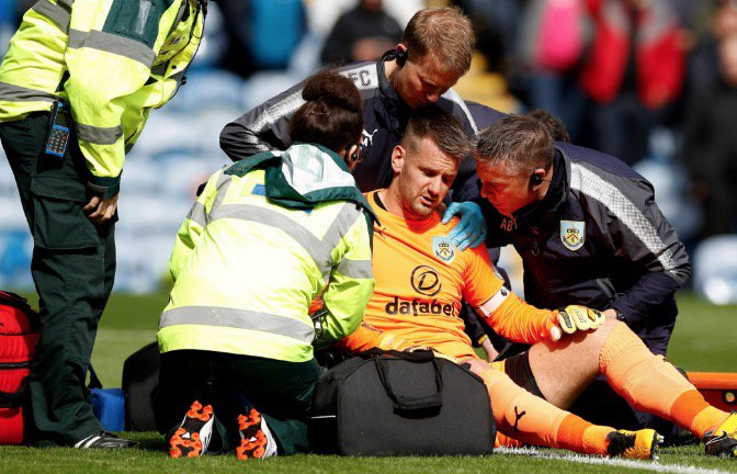 EXCLUSIVE: Tom Heaton opens up on World Cup injury heartache and his Burnley future after losing spot Photo