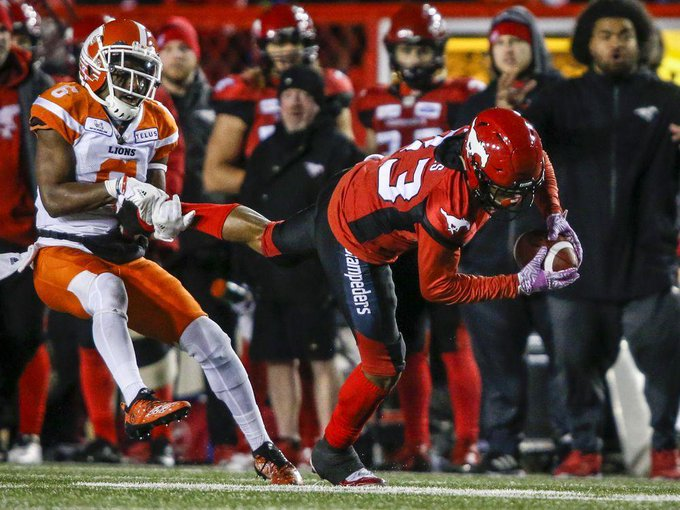Sutton sparks visiting Lions to 26-21 win over Calgary Stampeders Photo