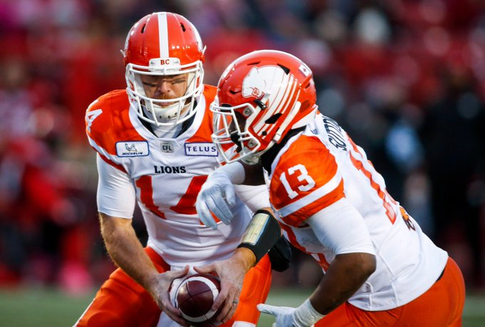Sutton sparks visiting Lions to win over Stampeders MORE: Photo