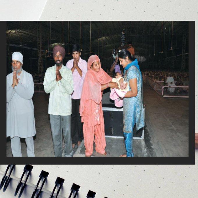 #TheGreatestGift @gurmeetramrahim @derasachasauda के दुआरा निसंतान लोगो को संतान सुख दिलवाया जाता है। Photo