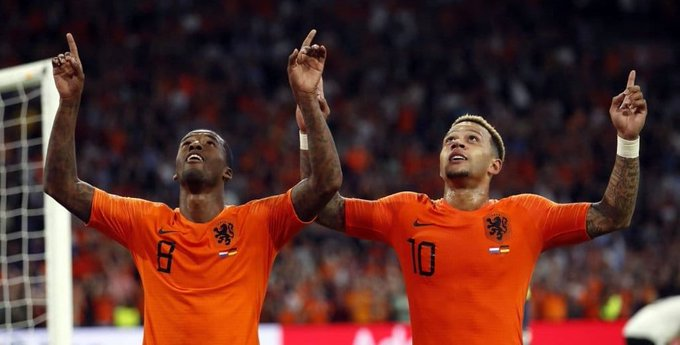 Another poor night for Germany. Netherlands have sent them to the bottom of their #NationsLeague group. No Ozil To Blame. . German football is on a terrible decline. Photo