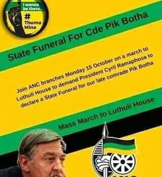 Pik Botha overleden. Dpc_e8tXUAARuXT