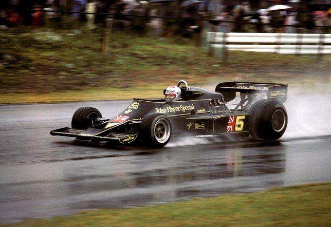#WECxFOX : 1era Victoria en Monte Fuji 1976 ( Mario Andretti ) con intensa lluvia lo recuerdas @pvignone ? @EnricoTornello 📸 Foto