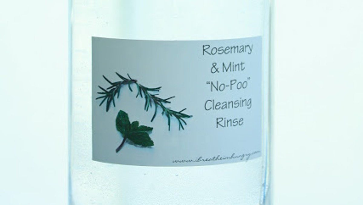 #DIY Rosemary and Mint 'No Poo' Hair Cleansing Rinse https://t.co/vUyx5CvMIE #Homemade #Natural