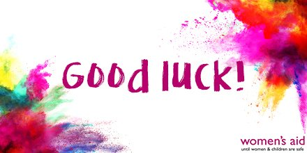 It's race day! GOOD LUCK to our #TeamWomensAid runners taking part in the @RoyalParksHalf 👟 We'll see you there!