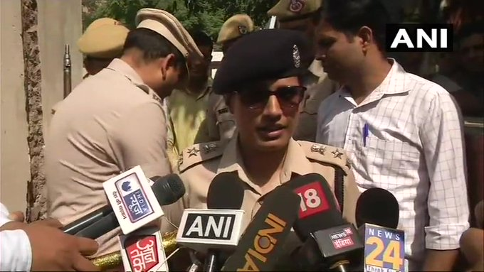 We will seek his (accused gunman) remand and question him further. It is still not clear why he shot wife and son of additional sessions judge yesterday, investigation is underway: Sulochana Gajraj, DCP East Gurugram Photo