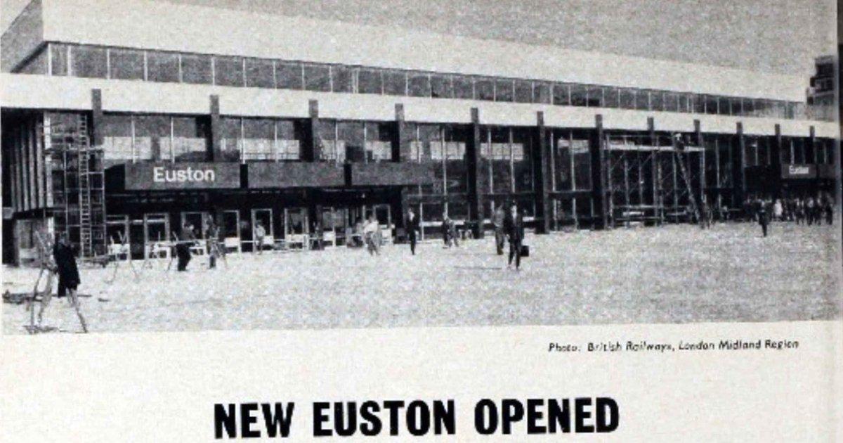Dpct6VgXgAEfBNw - Euston Station Anniversary Special