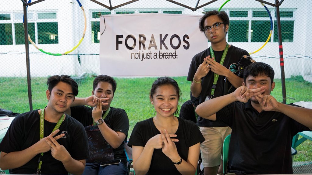October 13th. First Bazaar of FORAKOS during the Sci-Math event held at the De La Salle University Laguna Campus. Presenting the FORAKOS Bazaar Set-Up and the FORAKOS Management Team. #FORAKOS #NotJustABrand