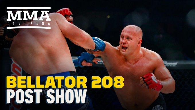 Watch @marc_raimondi and @PhenomLima discuss #Bellator208 Fedor vs Chael Sonnen Photo