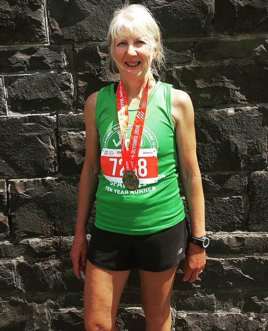 Big shoutout to Mum who ran her 50th marathon today at @melbmara after running her first at 42 yrs old #runsinthefamily Photo