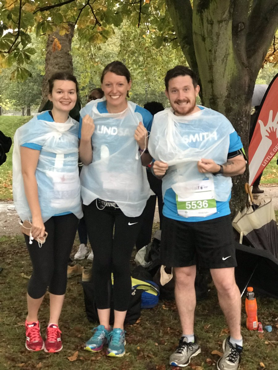 The Trust team are rearing to go @RoyalParksHalf 🍂⚡️Good Luck guys 🙌 #Confidenceaftercancer
