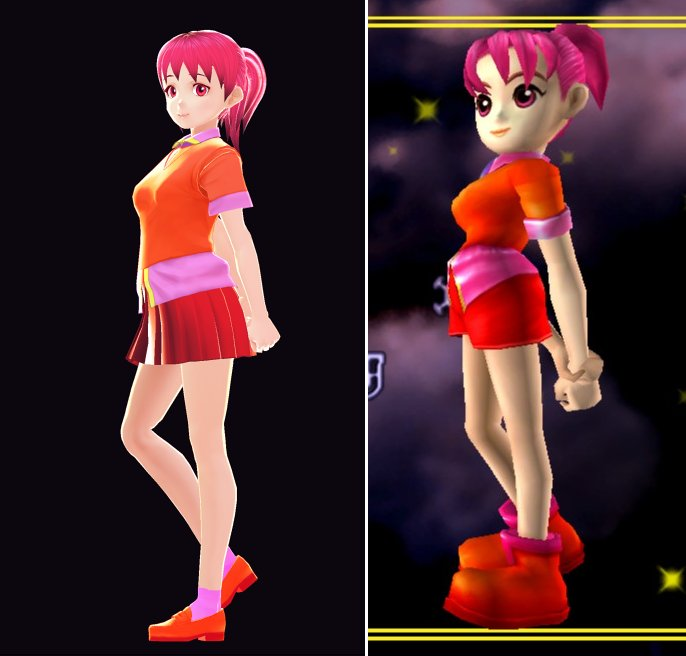 Decided to try out #Vroid and did a model of Claris Sinclair from NiGHTS into Dreams <br>http://pic.twitter.com/zUfc7tW6kx