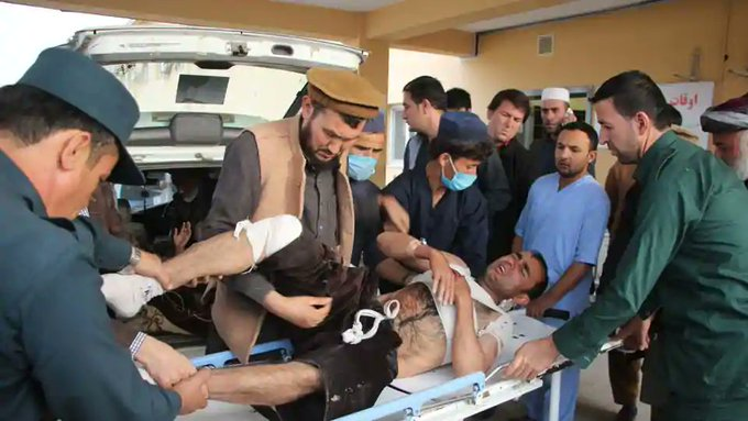 Death toll in Afghan election rally attack rises to 22 Photo