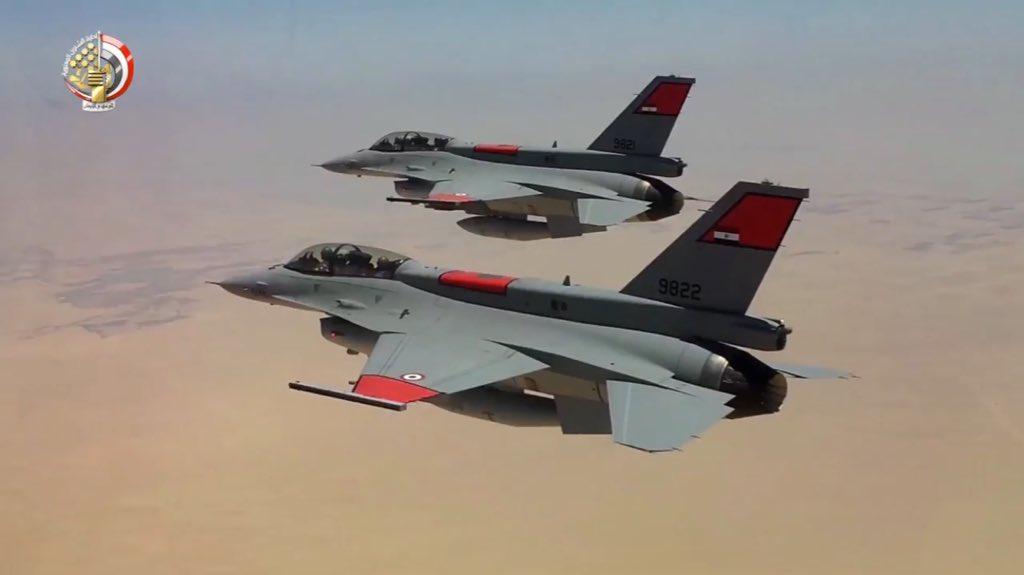 """مصر ستتسلم أربعة طائرات """"F -16"""" بنهاية أكتوبر الجاري DpdXL53WwAERhqn"""