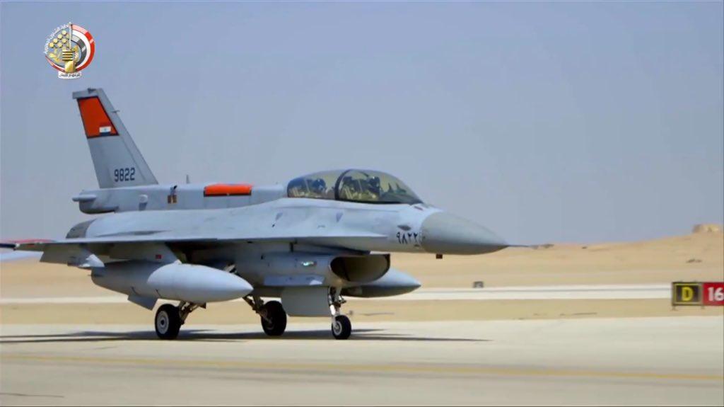 """مصر ستتسلم أربعة طائرات """"F -16"""" بنهاية أكتوبر الجاري DpdXL7_W0AAfVlH"""