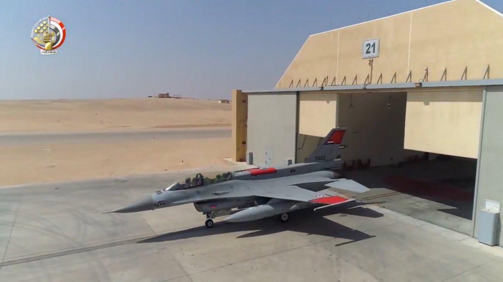 """مصر ستتسلم أربعة طائرات """"F -16"""" بنهاية أكتوبر الجاري DpdXL8yW4AAI569"""