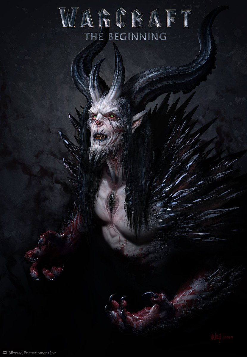 Medivh Demon 2014.