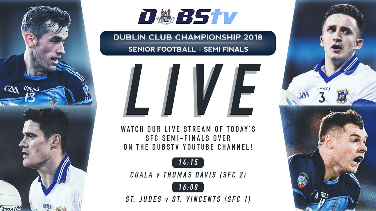 Dublin Gaa On Twitter Be Sure To Tune In To The Dubstv Live Stream