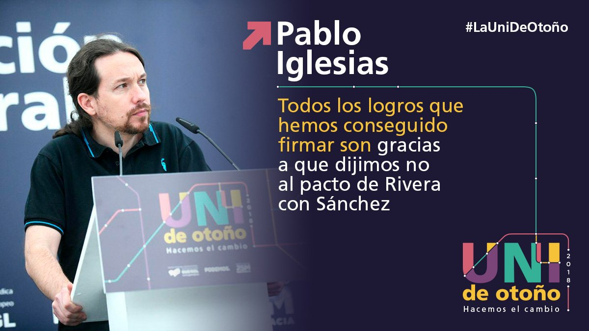 👇@Pablo_Iglesias_ #LaUniDeOtoño 🚂