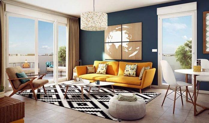 #Programme #neuf #MontpellierCette résidence, avec espaces verts, propose des appartements neufs, du studio au 4 pièces, disposant chacun d\
