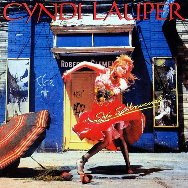 Oct 14, 1983: 35 years ago, @cyndilauper  released her debut album, Shes So Unusual. #80s