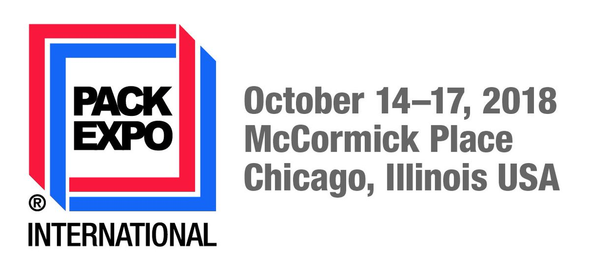 Today is the first day of @packexposhow! Are you attending the show? Let us know by sharing some pictures from your visit & drop by at stand 8735 to discover our products. #TiExperience #PACKEXPO ow.ly/7YT430m9Bjw