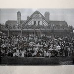 Image for the Tweet beginning: 🧐 Watching the Tennis, 1894